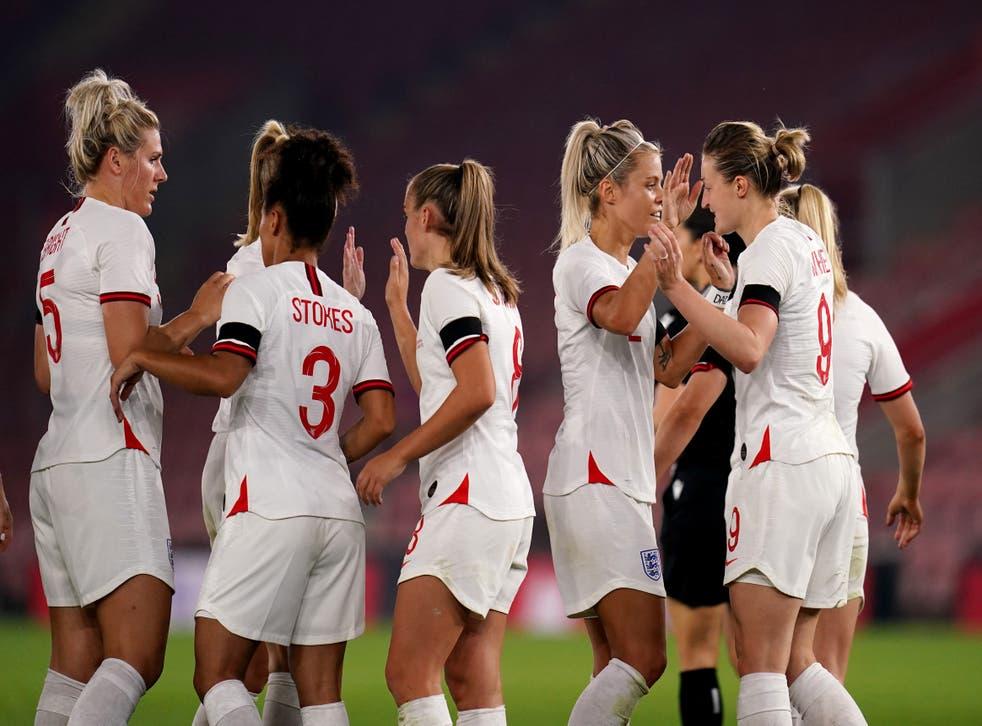 England smashed 10 goals past Luxembourg (John Walton/PA)