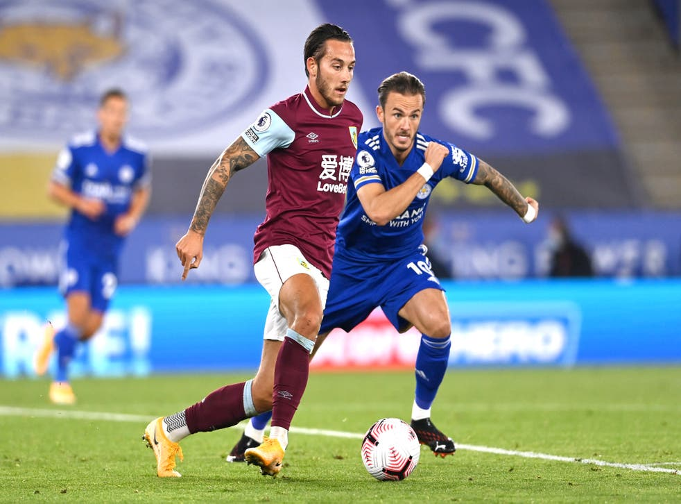<p>Leicester welcome Burnley to the King Power Stadium </p>