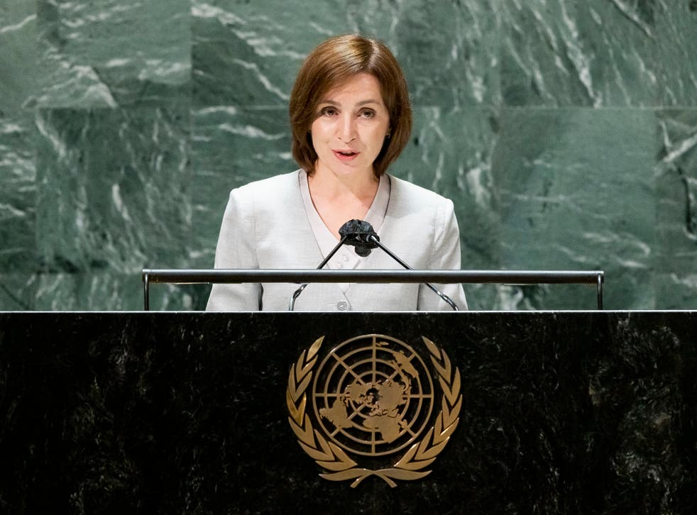 UN General Assembly Moldova