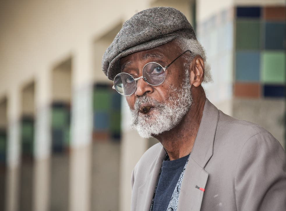 <p>File: Melvin van Peebles at the 38th Deauville American Film Festival in 2012</p>