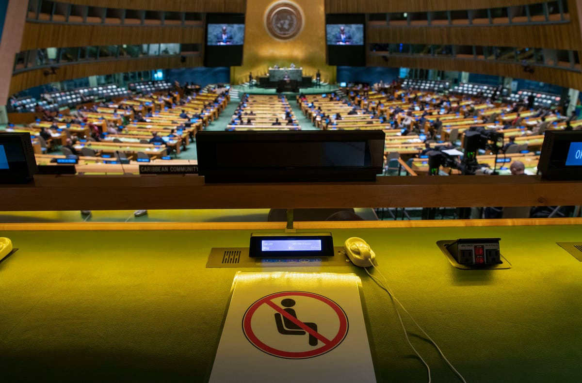 Image Vaccine inequity comes into stark focus during UN gathering