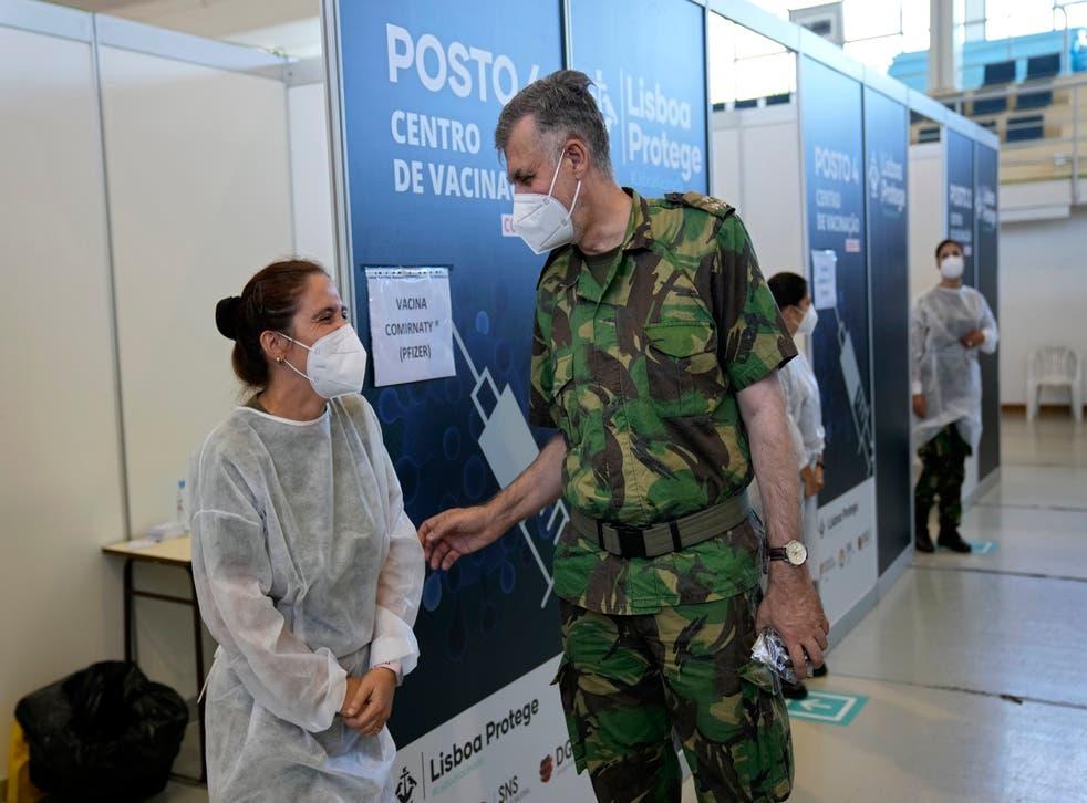 Virus Outbreak Portugal Success