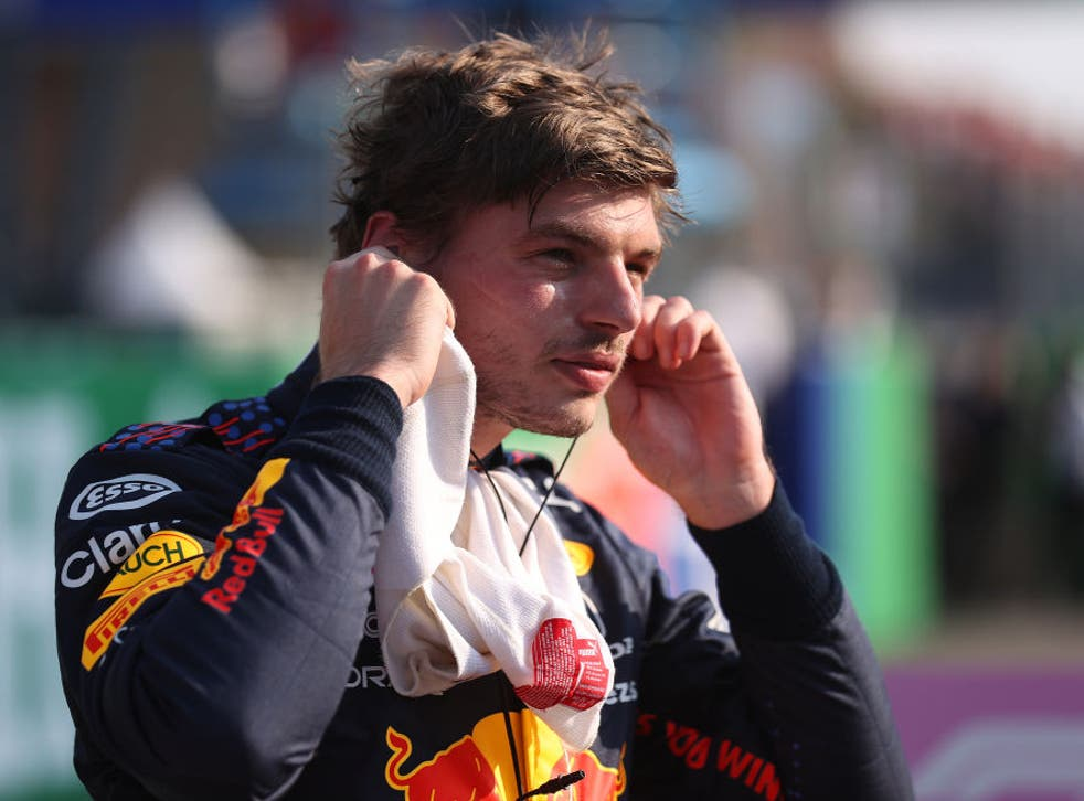 <p>Verstappen crashed out of the Italian Grand Prix following a collision with Hamilton</p>