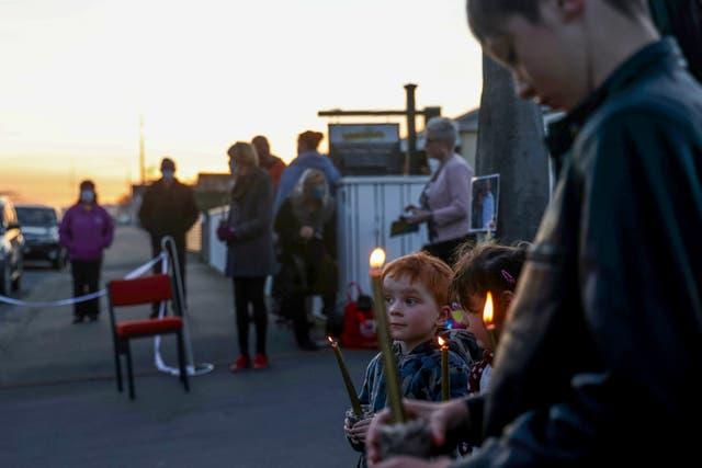 New Zealand Triple Homicide Vigil