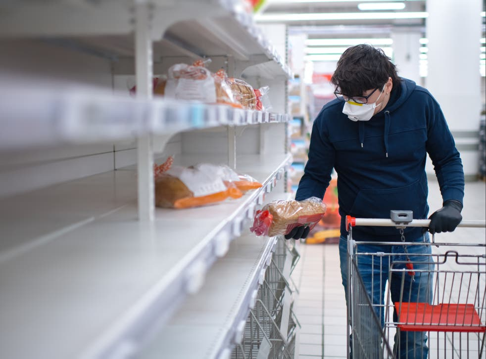 <p>Shoppers could be faced with another bout of empty shelves over Christmas unless more seasonal workers are allowed entry to the UK </p>