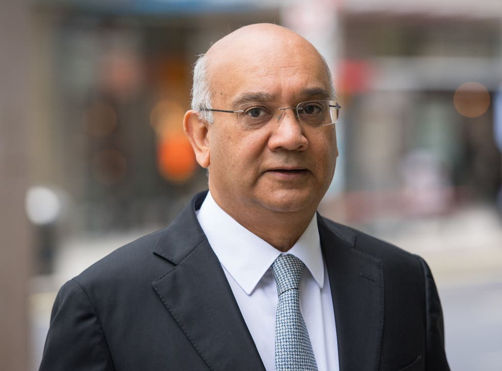 <p>Former Labour MP for Leicester East Keith Vaz</p>