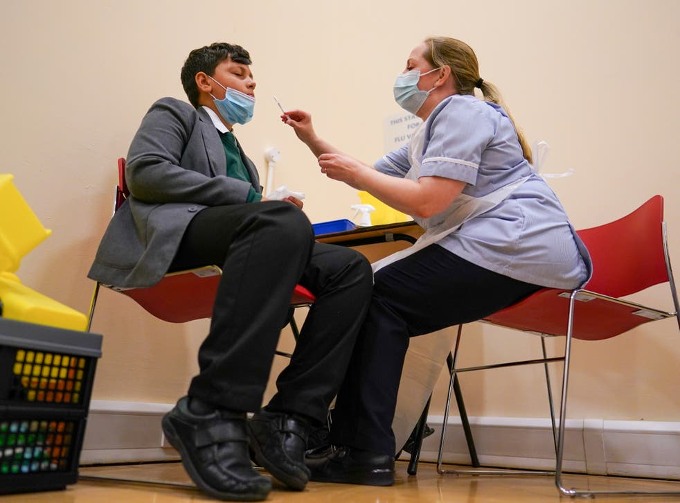 <p>The Covid vaccine rollout for 12 to 15 year olds kicked off this week in England, Wales and Scotland</p>