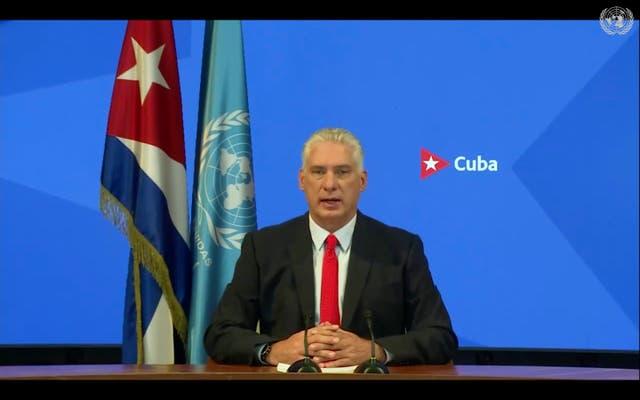 ASAMBLEA GENERAL-CUBA
