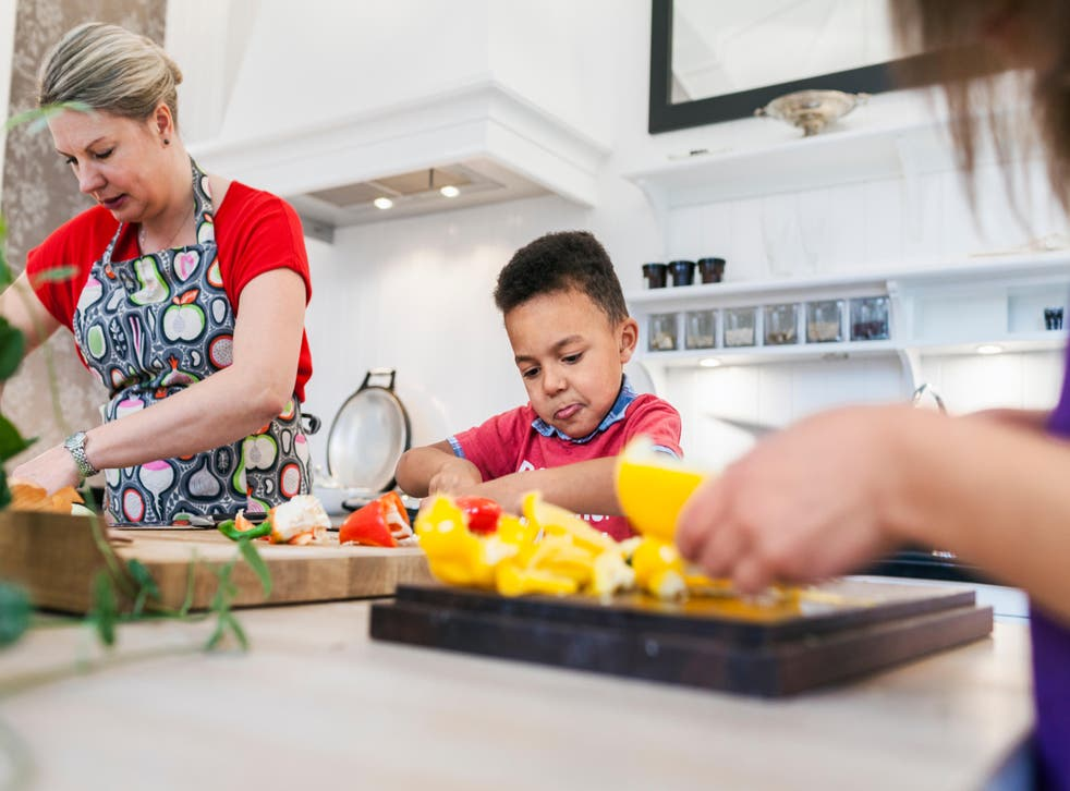 Research shows 15% of children want to be vegan (Alamy/PA)