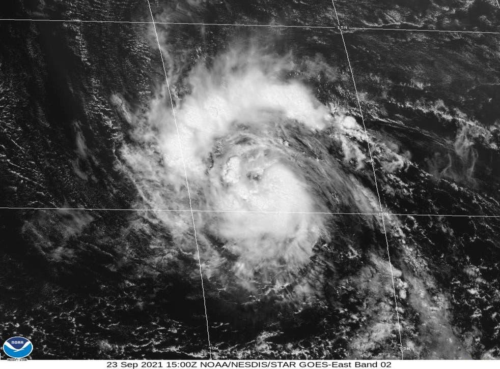 <p>Tropical Storm Sam</p>