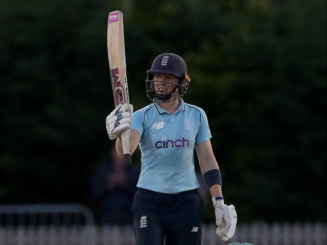 Heather Knight's century guided England Women to victory (Simon Marper/PA)