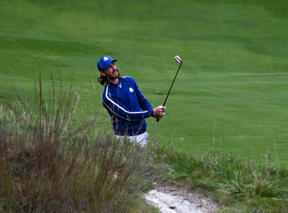 Tommy Fleetwood was left out of the opening session of the 43rd Ryder Cup at Whistling Straits (Anthony Behar/PA)