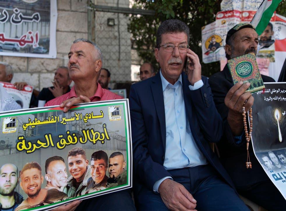 Israel Imprisoning Palestinians