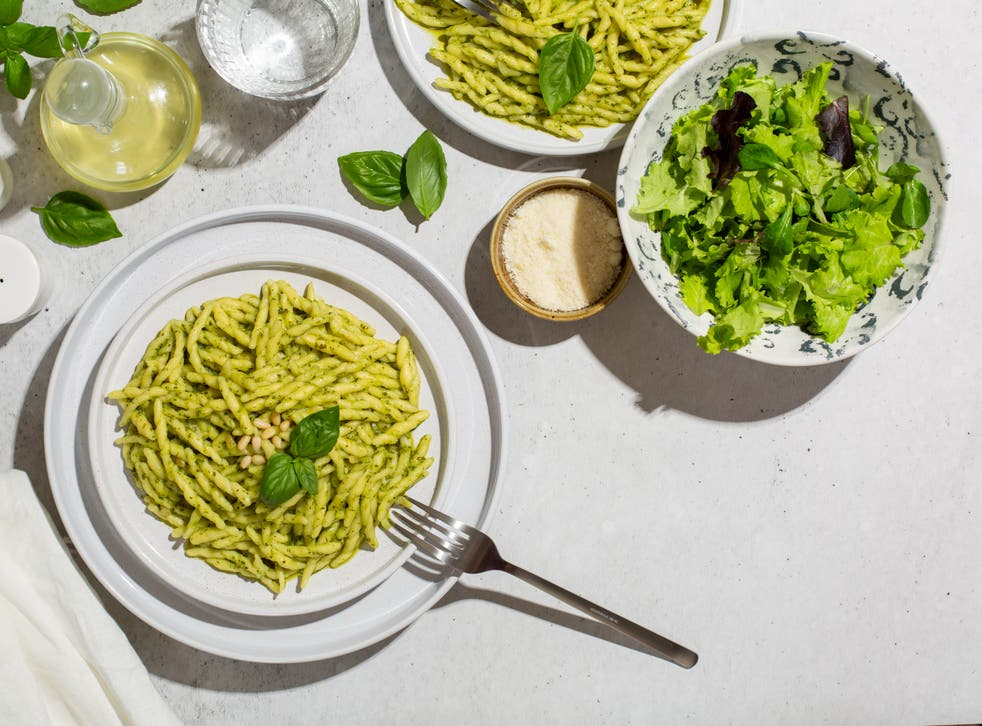 <p>Pesto pasta is a staple, but that doesn't mean you can't experiment </p>
