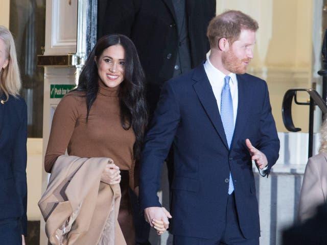 The Duke and Duchess of Sussex (Alamy/Joshua Bratt/PA)