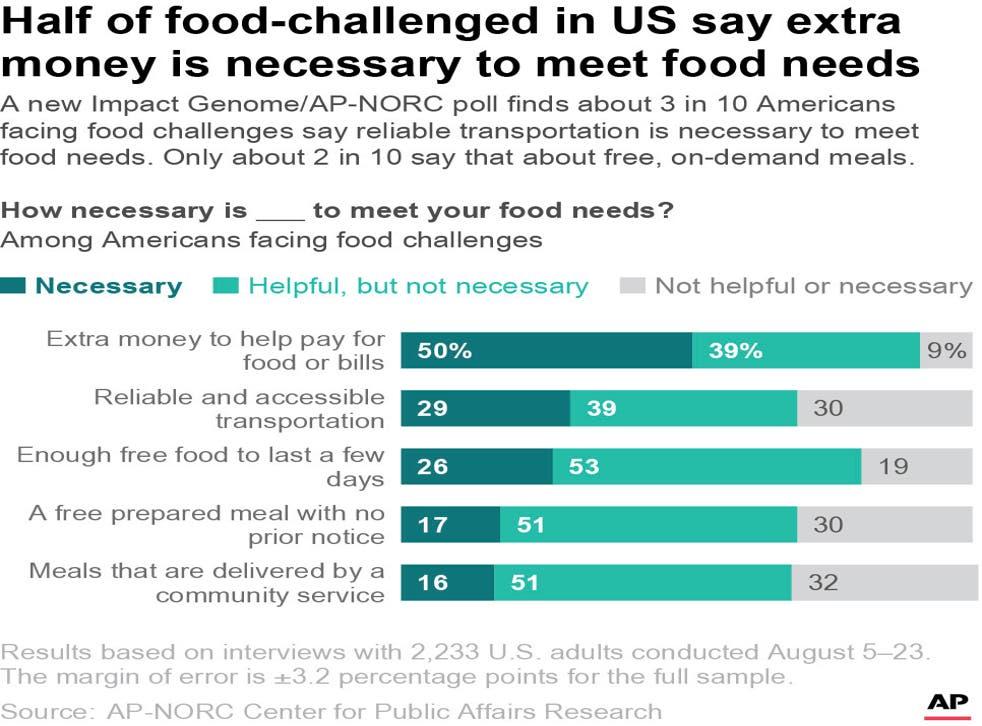 AP Poll-Hunger in America-Meet Needs
