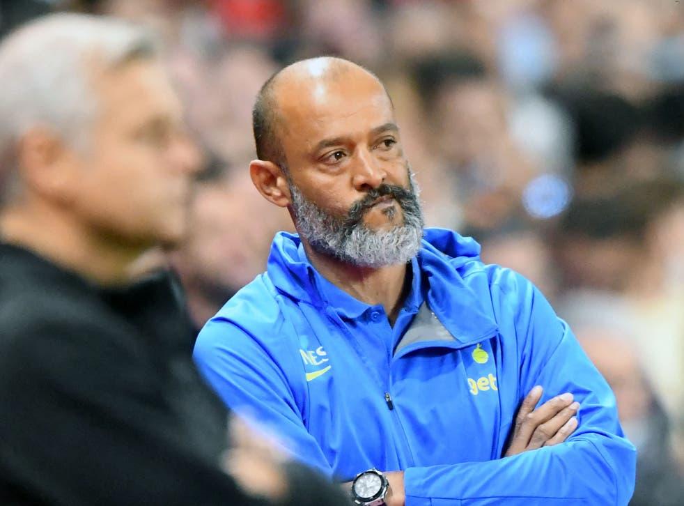 <p>Tottenham head coach Nuno Espirito Santo admits his side have a number of problems</p>