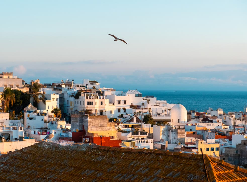 <p>Flying free as a bird in Tangier</p>