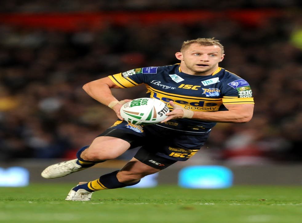 File photo dated 06/20/12 of Rob Burrow playing for the Leeds Rhinos. Ex-rugby league player Rob Burrow has begun spearheading a ??5 million charity appeal to build a new motor neurone disease (MND) centre in Leeds. Issue date: Tuesday September 7, 2021.