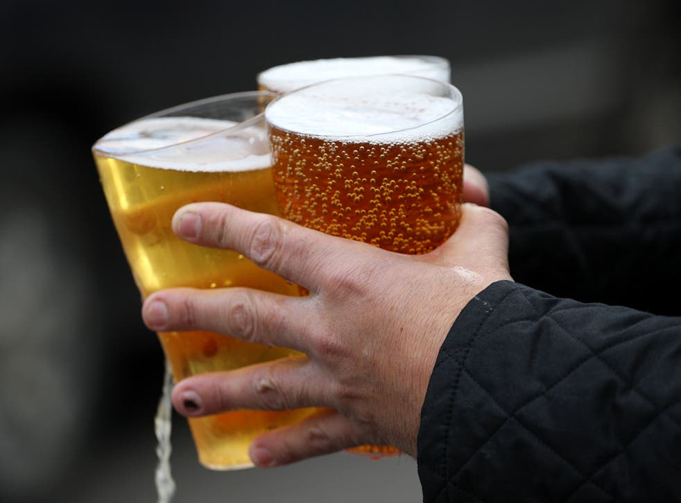 Fans are currently unable to drink at their seats in grounds (PA)