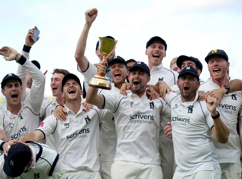 Warwickshire clinched the County Championship title (Bradley Collyer/PA)