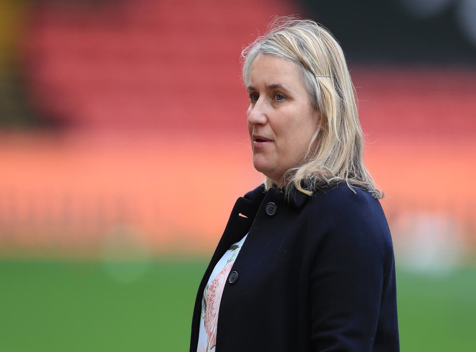 Chelsea Women manager Emma Hayes was critical of even the increased prize money for Euro 2022 (Mike Egerton/PA)