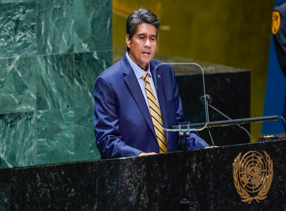 UN General Assembly Palau