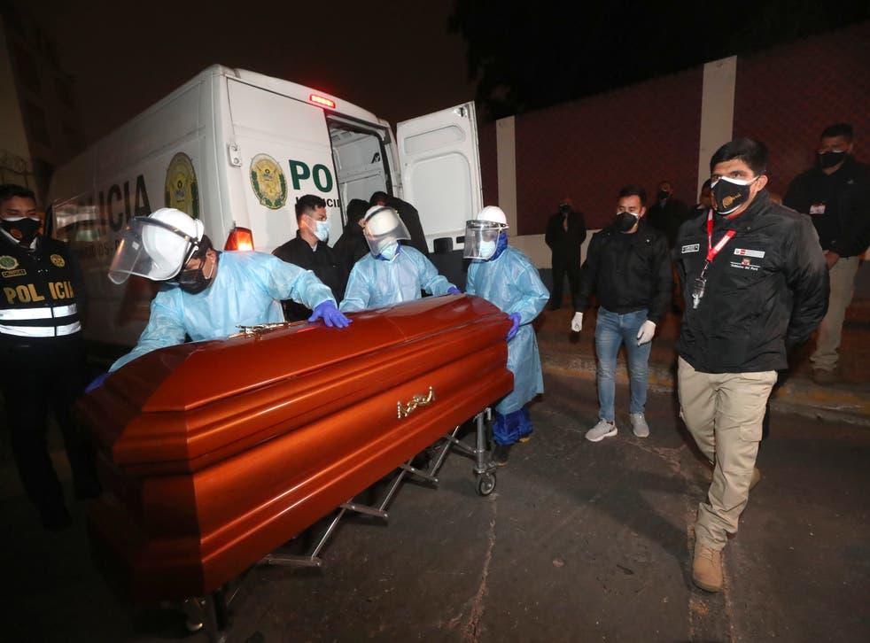 Peru Abimael Guzman Cremation