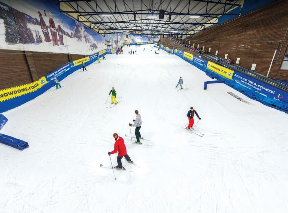 <p>The tragedy happened at the Snowdome venue in Tamworth, Staffordshire</p>