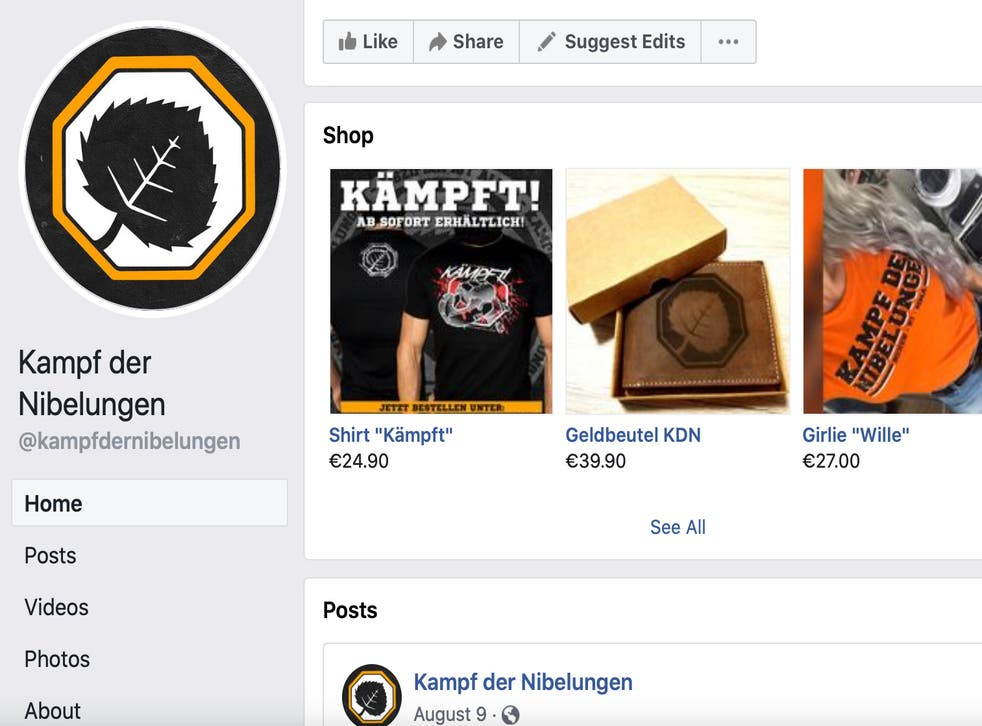 Neo Nazis Facebook