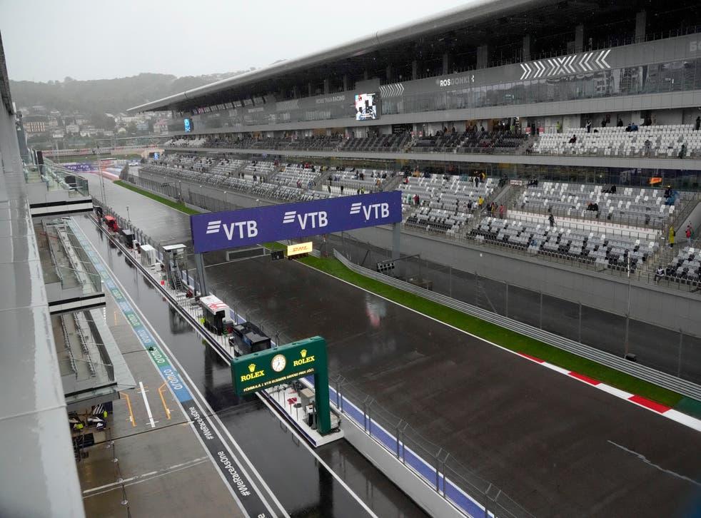 F1 GP-RUSIA