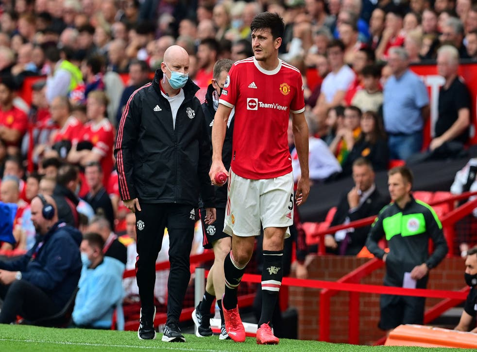 <p>The centre-back has missed United's last two games with a calf injury</p>