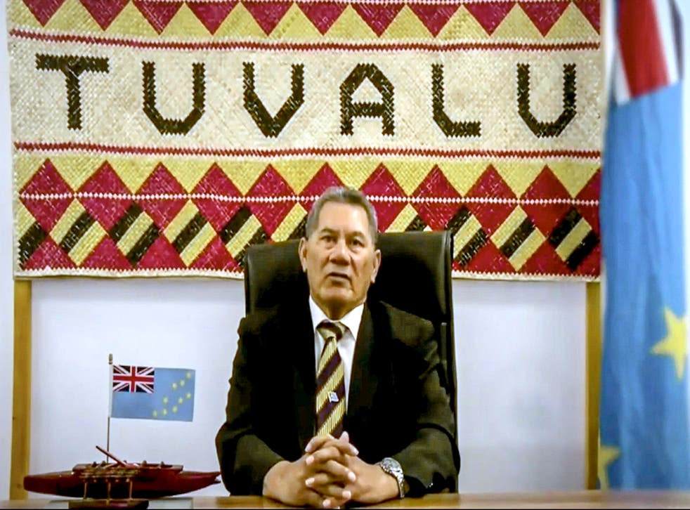 UN General Assembly Tuvalu