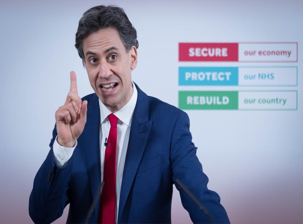 Ed Miliband is to say current gas prices are 'a disaster made in Downing Street' (Stefan Rousseau/PA)