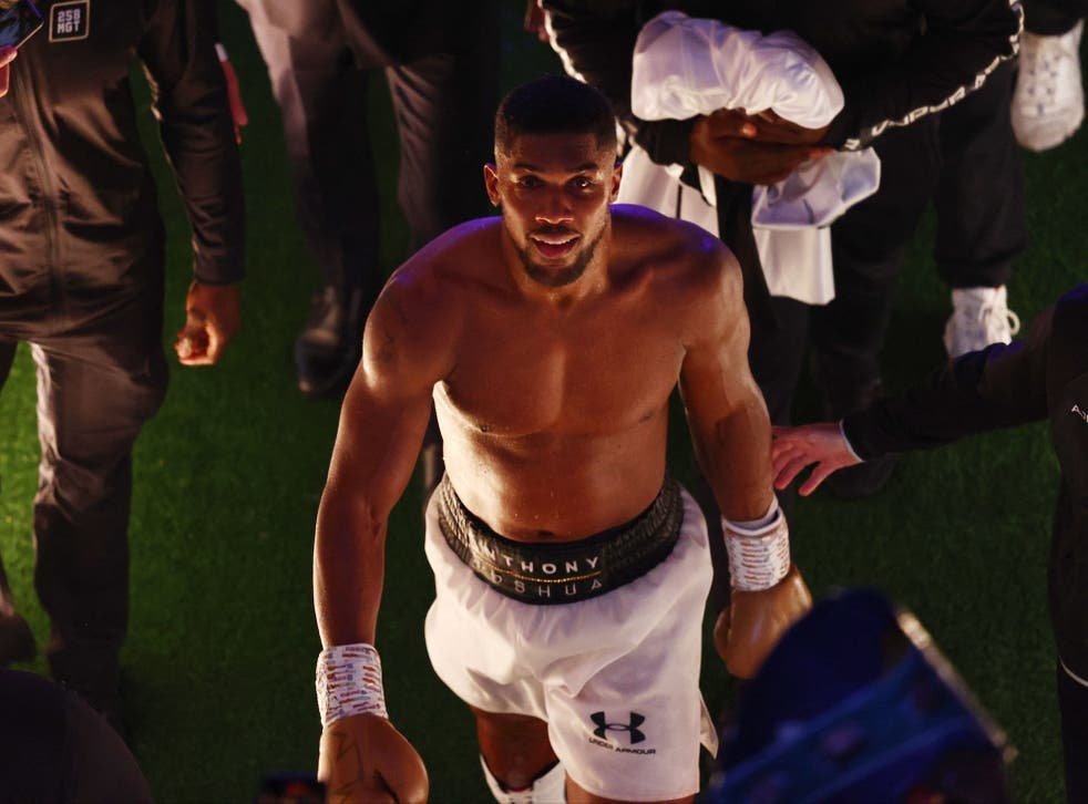 <p>Anthony Joshua was dethroned as world heavyweight champion </p>