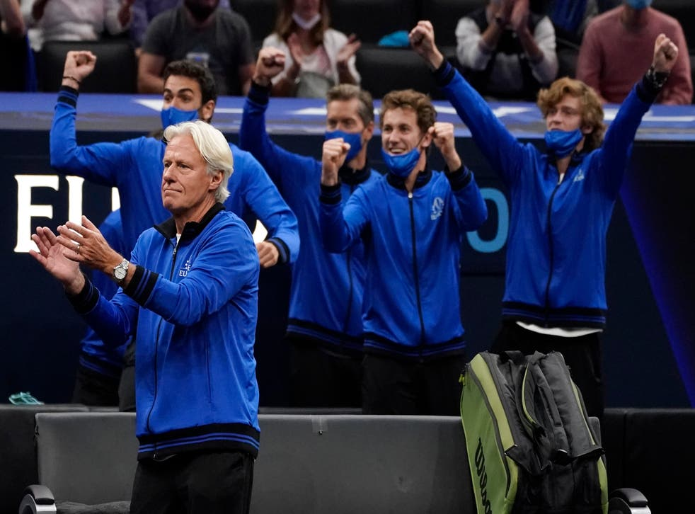 Team Europe continued to press home their advantage on day two in Boston (Elise Amendola/AP)