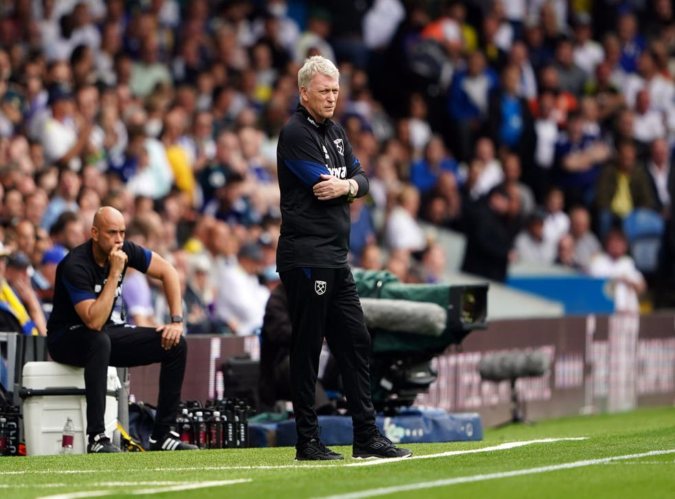 West Ham boss David Moyes labelled Leeds 'unique' after his side's win at Elland Road (Zac Goodwin/PA)