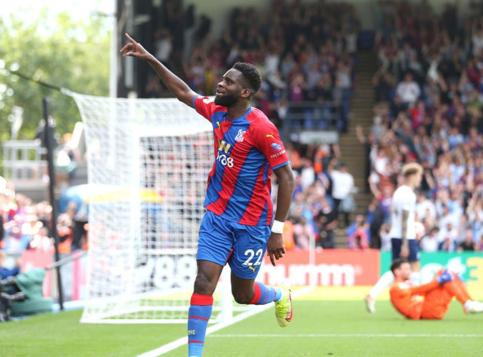 <p>Edouard will hope to start for Crystal Palace tonight</p>