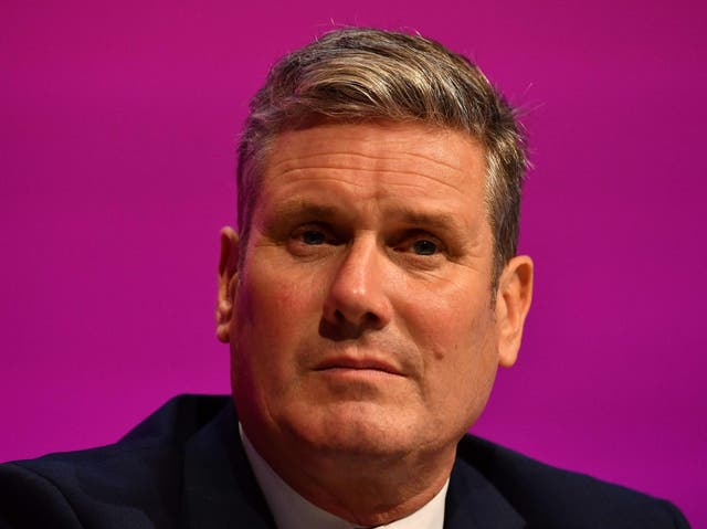 <p>Keir Starmer has suffered a second defeat as delegates voted to nationalise energy firms</p>