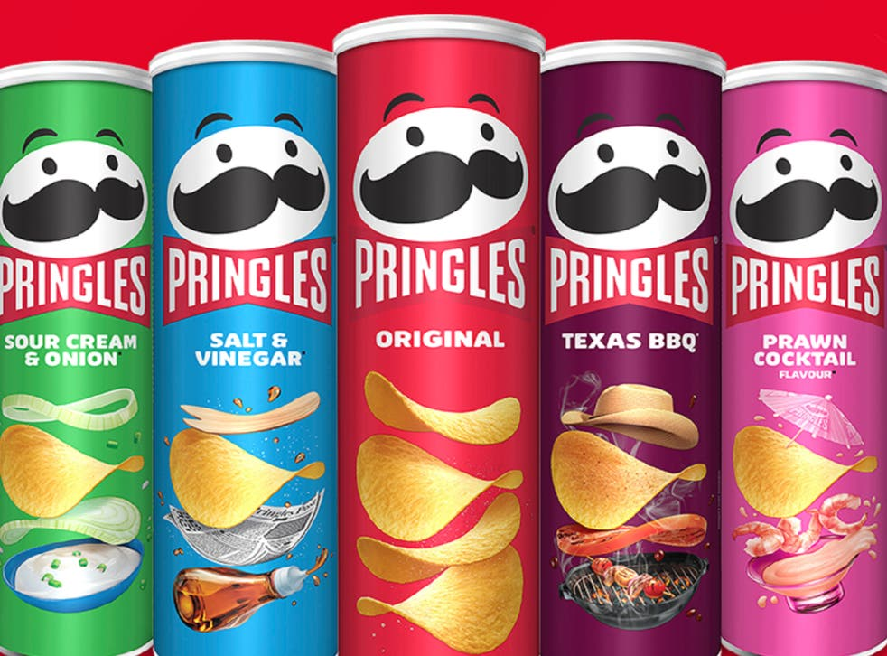 <p>Pringles first rebrand in 20 years</p>