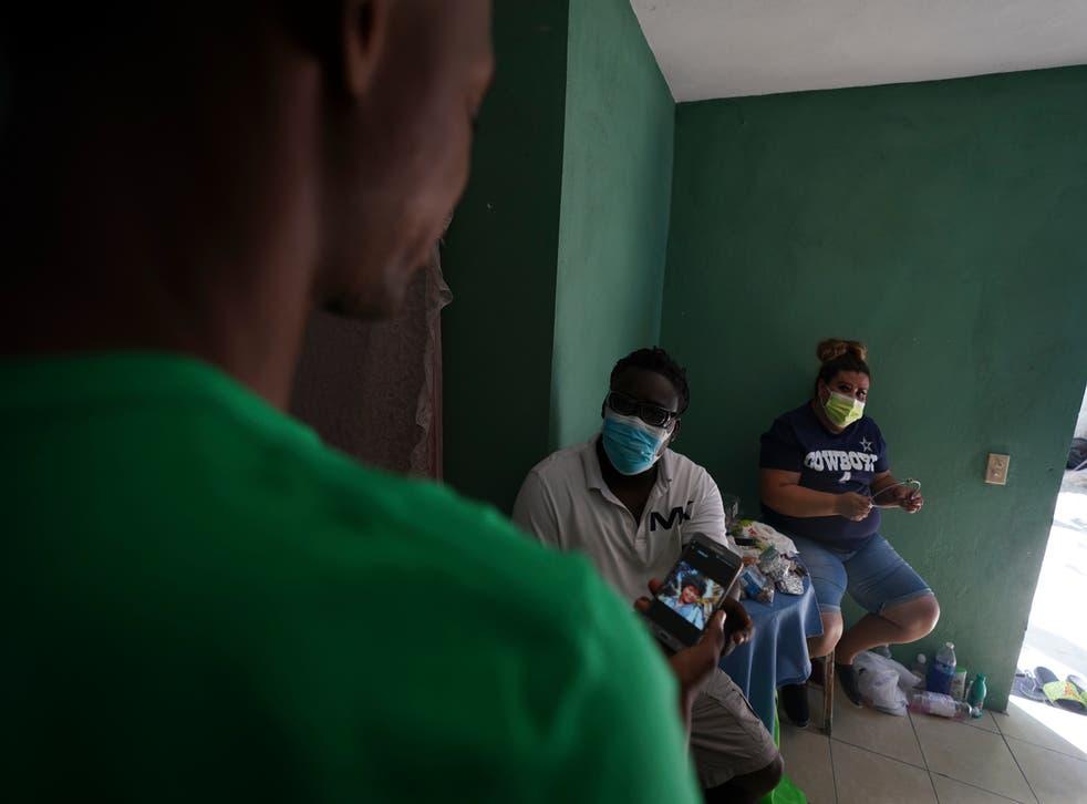 Mexico Haitian Migrants
