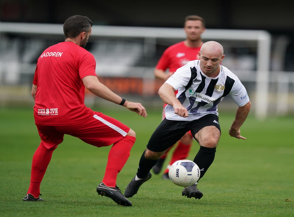 Heading was outlawed at a special charity match in Spennymoor (Mike Egerton/PA)