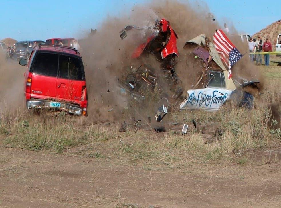 Flying Farmer-Crash