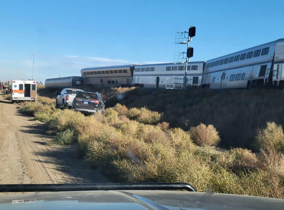 Amtrak Train Derails