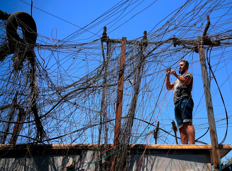 Iraq Electricity Woes