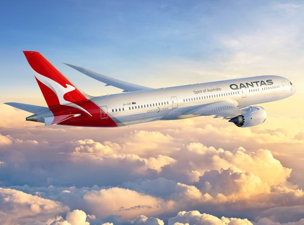 <p>Dream flight? Qantas Boeing 787 Dreamliner as formerly used on London-Perth flights </p>