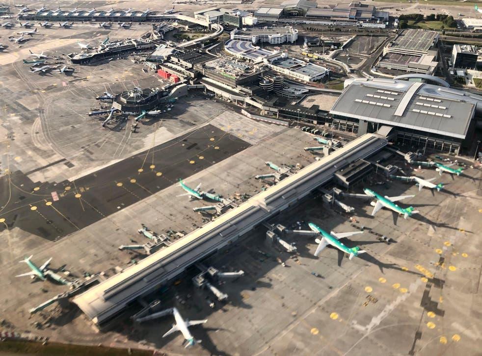 <p>Way point: Dublin airport</p>