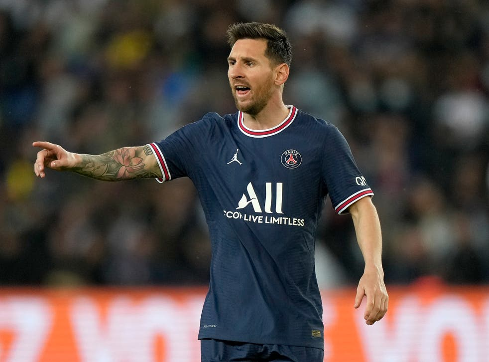 <p>Paris St Germain host Manchester City in their first Champions League home match since signing Lionel Messi (Francois Mori/AP)</p>