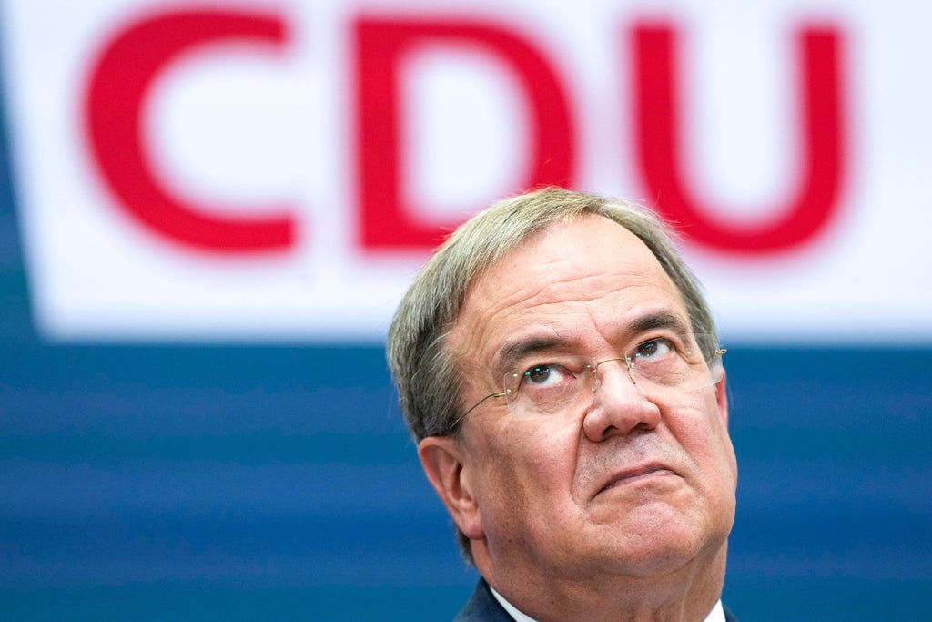 German elections: defeated CDU leader Laschet resolves to fight on in bid to form coalition photo