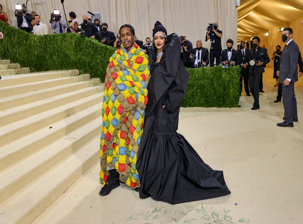<p>Woman reveals her great-grandmother made A$AP Rocky's Met Gala quilt</p>